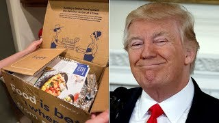 "Trump To Cut Half Of Food Stamps (SNAP) And Replace Them With ""America's Harvest Box."""