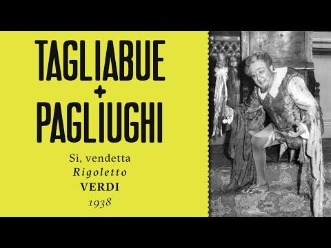 LIVE: Carlo Tagliabue & Lina Pagliughi - Sì, vendetta [Rigoletto] - 1938