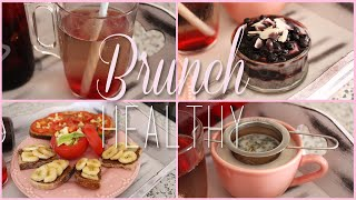 Brunch Healthy ♡ Mes 7 Recettes (detox Water, Overnight Chia, Chai Latte, Banana-hazelnut Bread...)