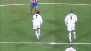 gol de Ronaldo en 14 segundos. Real Madrid vs Atletico de Madrid temp. 2003/2004