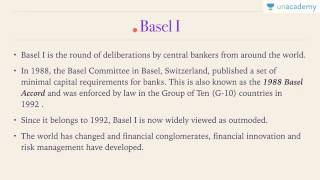 Essence of Banking Sector in India -10 - Learn about Basel Norms