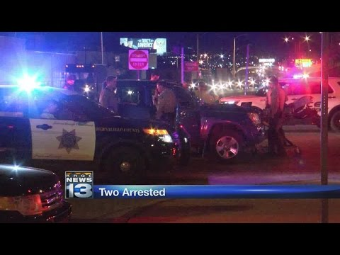 Suspects fleeing from deputies involved in Albuquerque crash