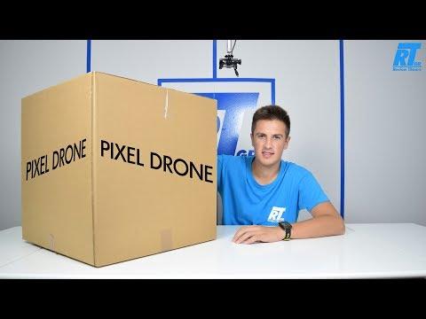 """Το """"Μεγαλύτερο"""" Drone του κόσμου/Pixel Drone Unboxing & Review (Greek)"""