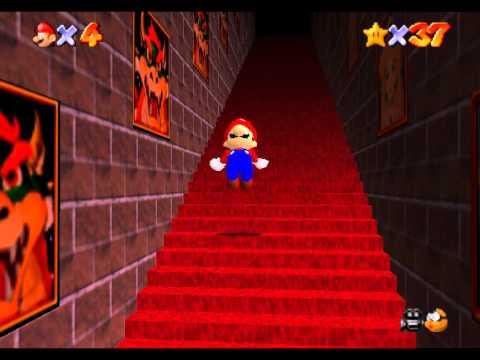 super mario 64 superando las escaleras infinitas youtube
