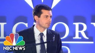 Pete Buttigieg To Mike Pence: 'Your Quarrel, Sir, Is With My Creator' | NBC News