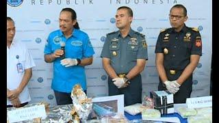 BNN Ungkap Jaringan Pengedar Narkoba Internasional