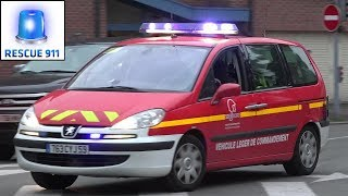 Sapeurs Pompiers Dunkerque SDIS Nord (compilation)