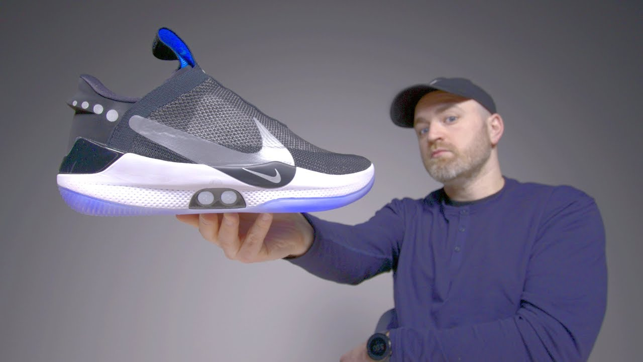 02e6671ec5 Nike Adapt BB Unboxing - Futuristic Self Lacing Sneakers - YouTube