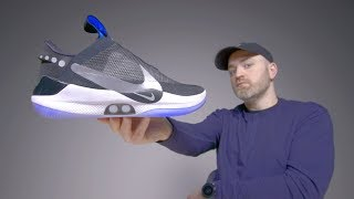 Download Nike Adapt BB Unboxing - Futuristic Self Lacing Sneakers Mp3 and Videos