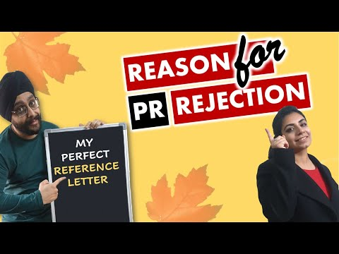 Reference Letter For Work Experience | Biggest Reason For Canada PR Rejection