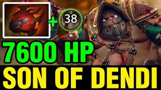 SON OF DENDI - 7600 HP - Dota 2