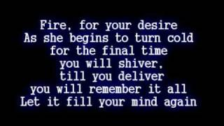Disturbed - Inside the Fire [Lyrics]