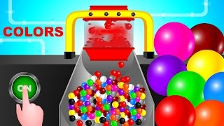Learning Colors with Balls, Colors for Children to Learn, Baby Videos, Kids Learning Videos