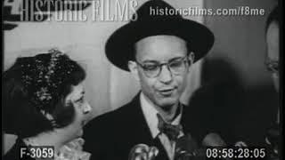 JOURNALIST OR SPY?  BILL OATIS RELEASED FROM CZECH PRISON - 1953