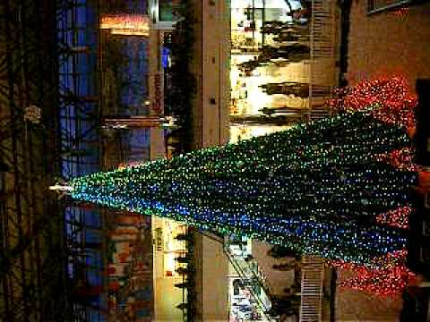 Christmas tree @ MN Mall on Guam