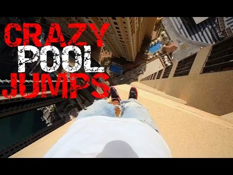 CRAZY JUMPING ROOF INTO POOL COMPILATION|BALCONING 2016/2017