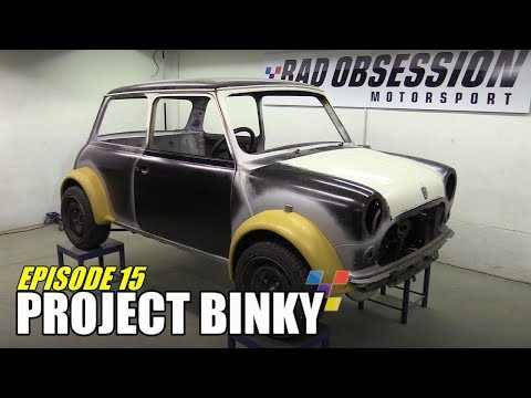 Project Binky - Episode 15 - Austin Mini GT-Four - Turbochar