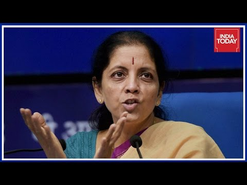India Today Exclusive: Interview With Union Minister Nirmala Sitharaman