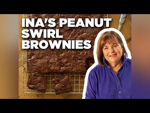 How To Make Ina Garten's Peanut Swirl Brownies   Food Network