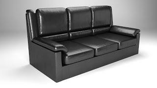 Моделирование кожаного дивана в Blender(В данном уроке Вы узнаете, как моделировать диван при помощи скульптинга, а также как настроить для него..., 2015-04-24T18:30:17.000Z)