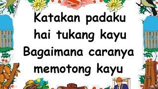 Download lagu TUKANG KAYU (LIRIK) - Lagu Anak - Cipt. Pak Dal - Musik Pompi S Mp3