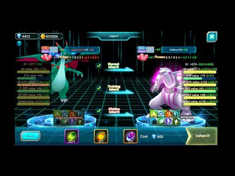 Fate World (Pokeland Legends) - PALKIA UPGRADE! INHERIT, BREAKTHROUGH, PASSIVE, FRIENDSHIP, ETC.