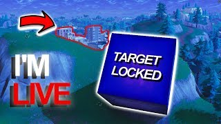 FOLLOWING THE CUBE LIVE//FORTNITE CUBE DESTROY TILTED TOWERS// SEASON 6