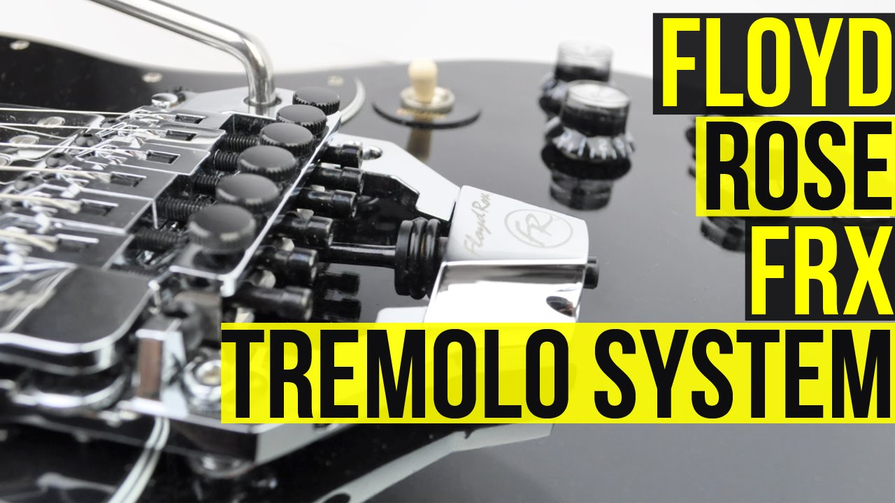 Floyd Rose FRX Surface Mount Tremolo System