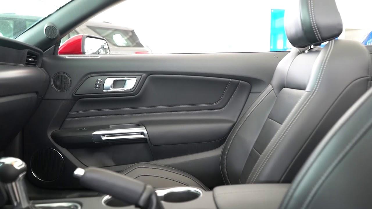 Nuevo Asi Se Ve El Interior De Un Ford Mustang Gt Premium Youtube
