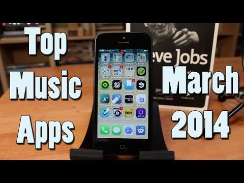 Top iOS apps - March 2014 - Music Edition !