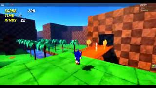 (starting to like this game) Roblox:Sonic Roblox Blast) Part:1