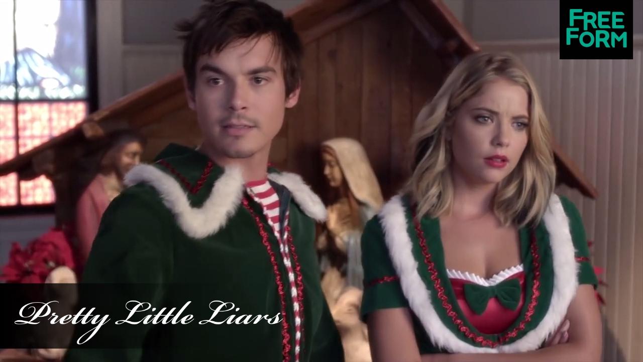 Pretty Little Liars   ChristmAs Special, Sneak Peek: Hanna & Caleb ...