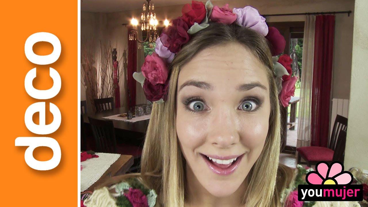 Vincha de flores youtube - Flores de telas hechas a mano ...