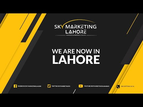 SKY Marketing | Lahore Office | We Are Now In Lahore