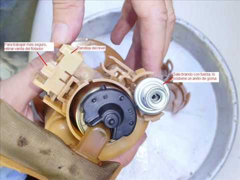 Change Fuel filter Toyota Corolla or Fielder Cambio de