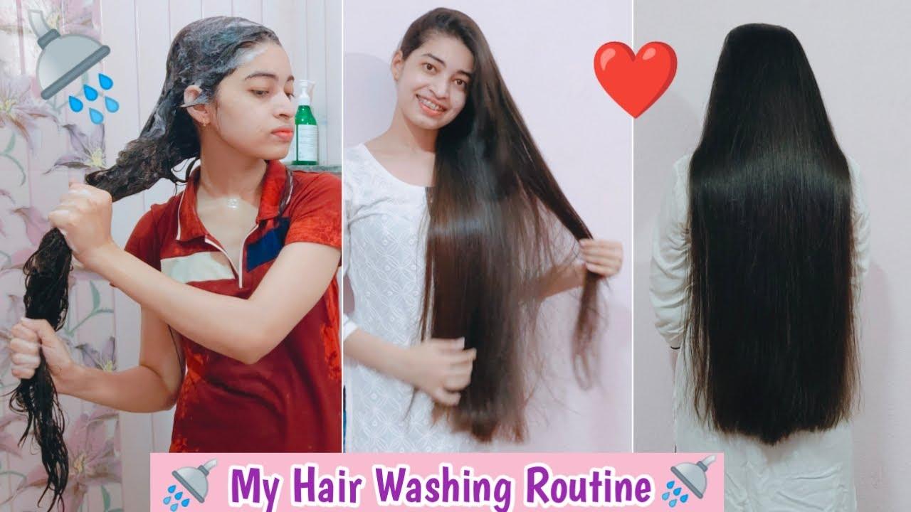 My Hair Wash Routine   HOW I WASH MY HAIR !!!