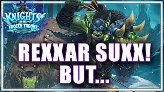 Beating Legend Dumpsters with a Dumpster Hero - How to Build Around Deathstalker Rexxar