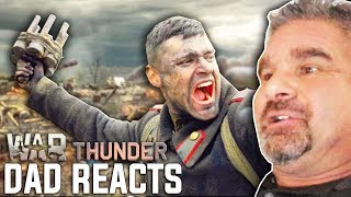 """Dad Reacts to """"Victory Is Ours"""" Live-Action Trailer - War Thunder"""