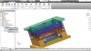 autodesk inventor tutorial  || Molding Part 2