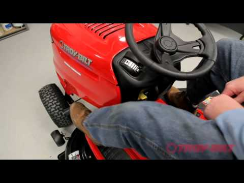 Troy Bilt Riding Lawn Mower How To Use Your Riding Lawn Tractor