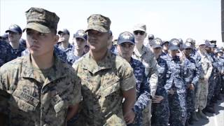 Vice President Michael R. Pence Visits USS Ronald Reagan