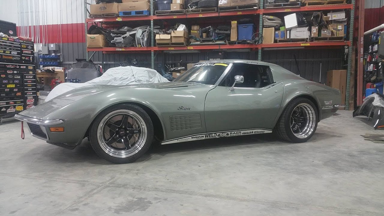 Step 1 Body Work On 71 C3 Custom Image Corvette Youtube