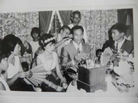 Beautiful Cambodian People before 1975.