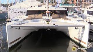 2015 Fountaine Pajot Saba 50 Catamaran - Walkaround - 2015 Annapolis Sail Boat Show