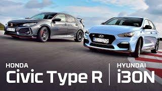Hyundai i30N vs Honda Civic Type R - Test on track NAVAK