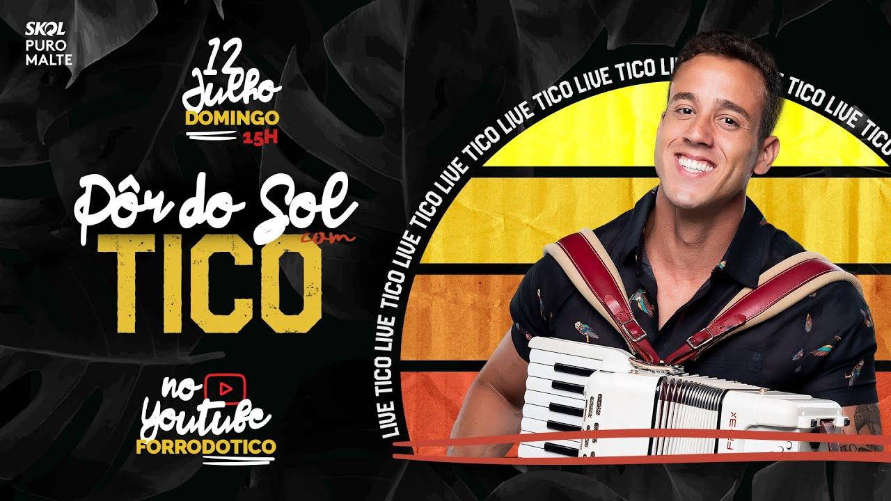 LIVE Pôr do Sol com Tico   #LiveDoTico