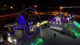 Иркутск: новогодняя аэросъемка ❄