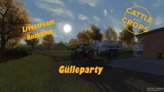 Cattle And Crops // Cnc // Gülleparty 🔴 Livestream 🔴 🎥konsolenkamera🎥