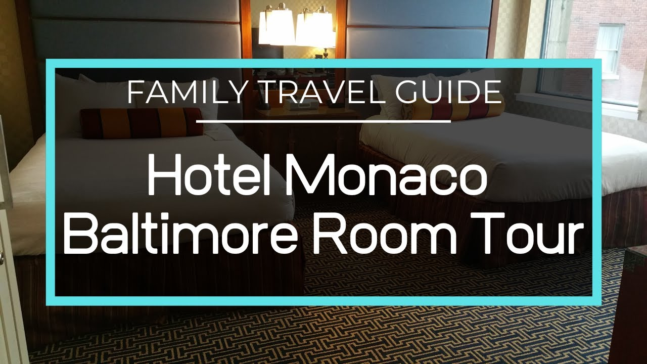 Hotel Monaco Baltimore Full Room Tour Double Double With Bunk