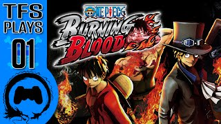 One Piece Burning Blood - 01 - TFS Plays (TeamFourStar)